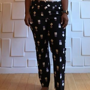 Geometric Patterned Trouser